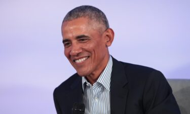 Former President Barack Obama will travel to Glasgow next month for a UN climate summit. Obama is shown here on the campus of the Illinois Institute of Technology on October 29