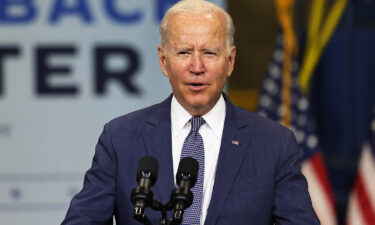 U.S. President Joe Biden speaks about his Bipartisan Infrastructure Deal and Build Back Better Agenda at the NJ Transit Meadowlands Maintenance Complex on October 25