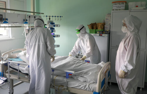 Russia has reported a record number of Covid-19 cases and deaths in the past 24 hours