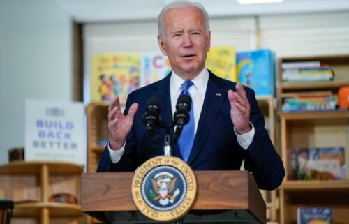 President Joe Biden informed House progressives Tuesday afternoon that the final bill to expand the social safety net is expected to drop tuition-free community college