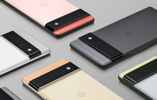 Google showed off the new 6.4-inch Pixel 6 and 6.7-inch Pixel 6 Pro