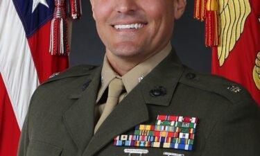 Marine Corps Lt. Col. Stuart Scheller