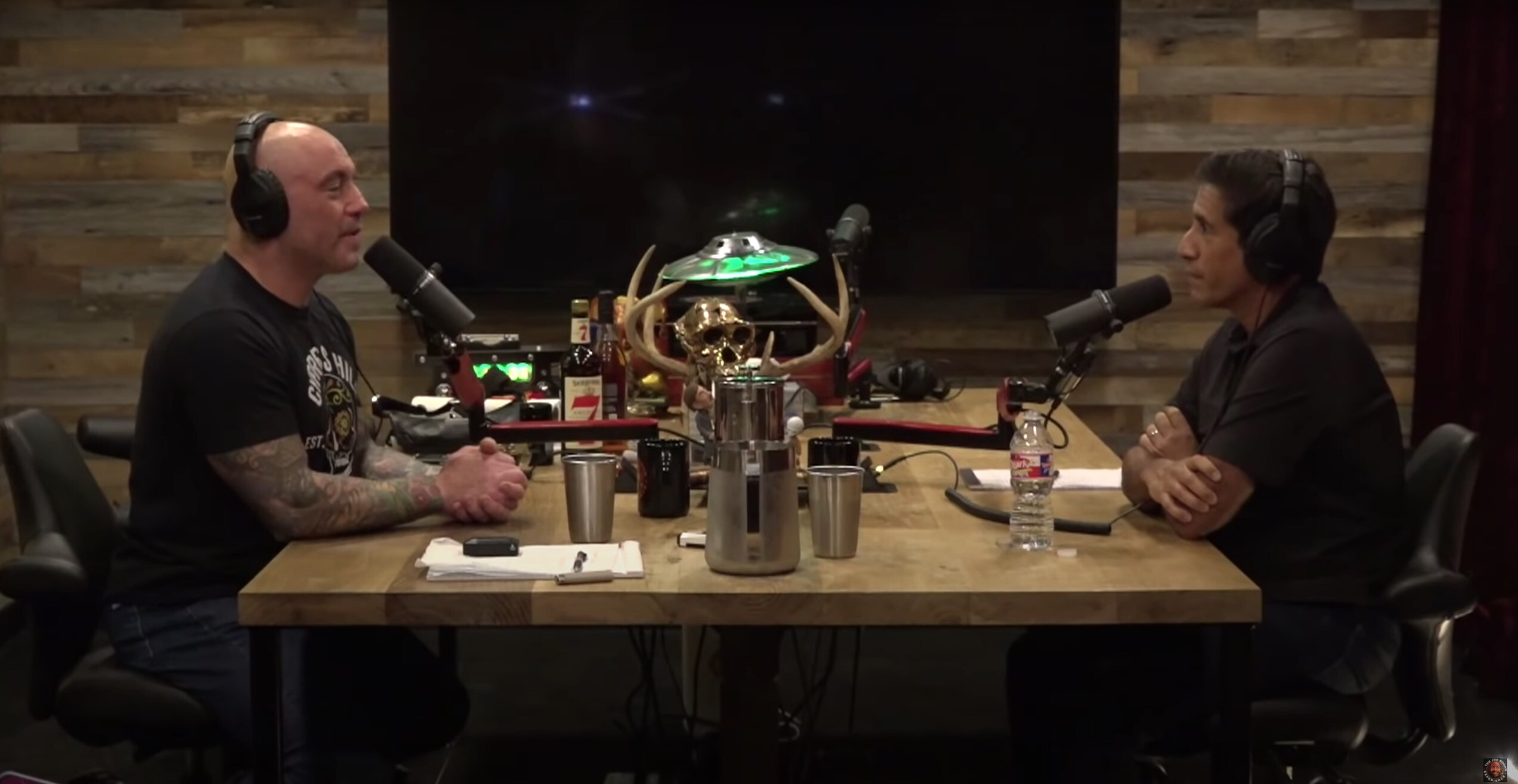 <i>From Joe Rogan Experience Podcast</i><br/>Dr. Sanjay Gupta sat down with Joe Rogan for three hours to speak with him about Covid-19 and vaccines on his podcast.