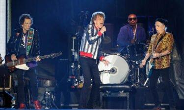 The Rolling Stones preform on September 26