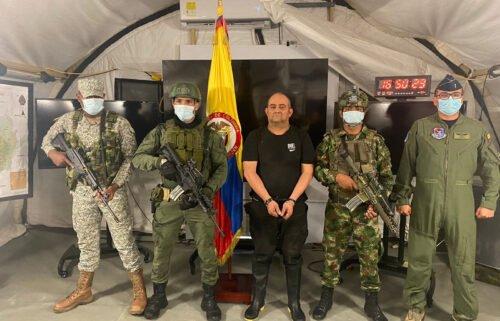 Colombia's President Iván Duque Márquez confirmed the capture of Dairo Antonio Usuga
